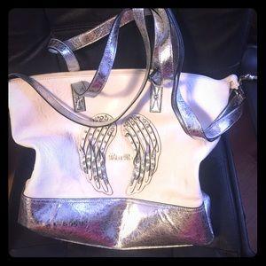 Miss me angel wings purse handbag